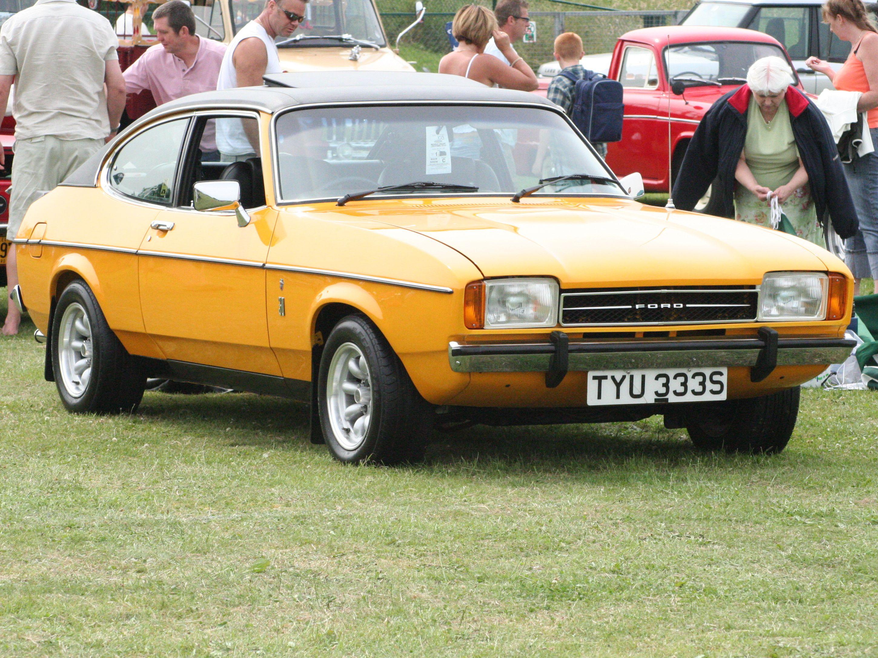 Ford Capri Mark Ii Ford Capri Ford Motor Ford