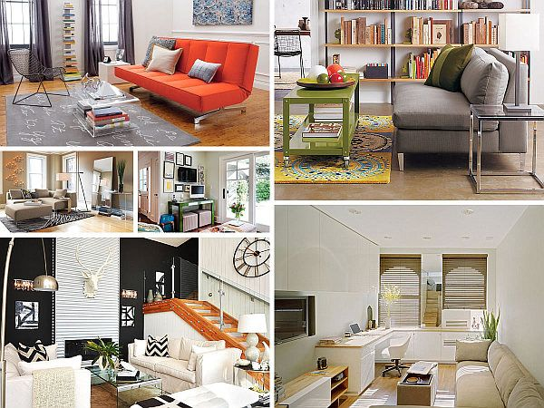 Space Saving Design Ideas For Small Living Rooms Small Space Living Room Living Room Design Modern Small Apartment Living