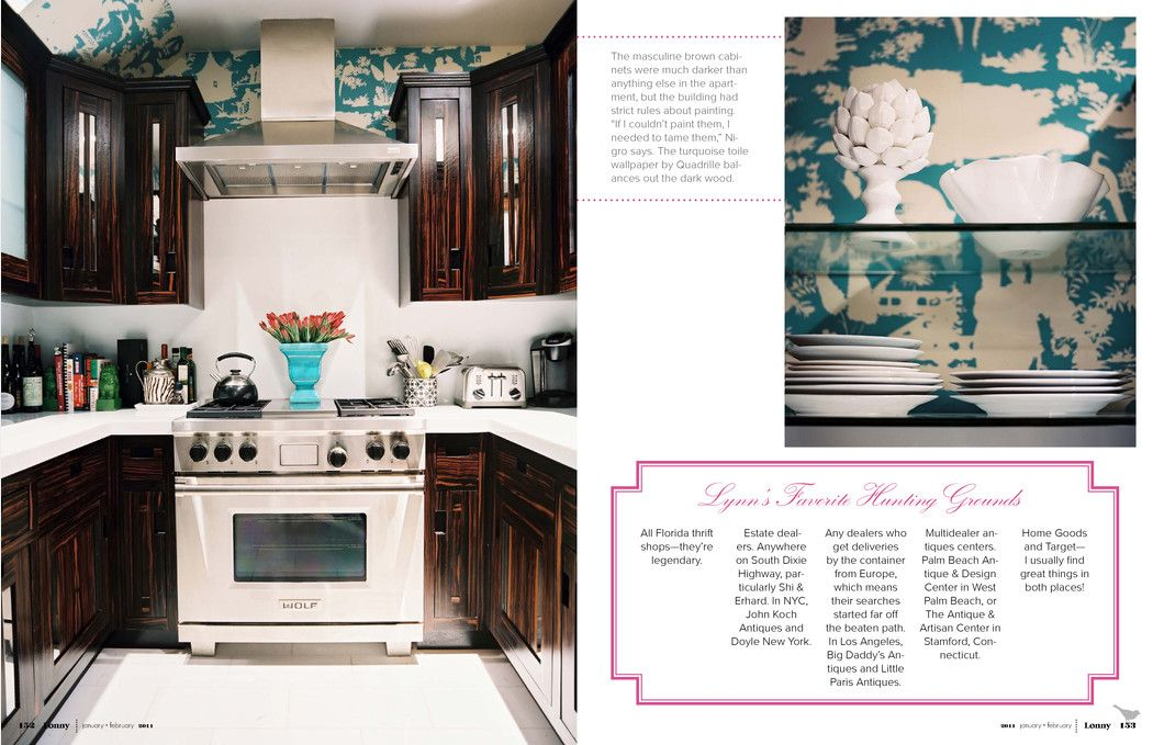 Jan Feb 2011 Lonnymag Com Fancy Kitchens Cabinet Decor Home Decor