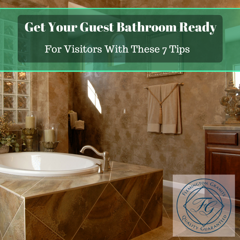 Get Your Guest Bathroom Ready For Visitors With These 7 Tips ...