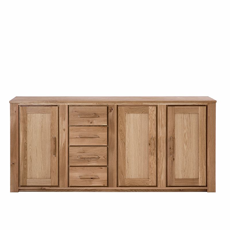 Sideboard »VIRGINIA« Wildeiche massiv, geölt - 200cm Breite Jetzt - wohnzimmer wildeiche massiv