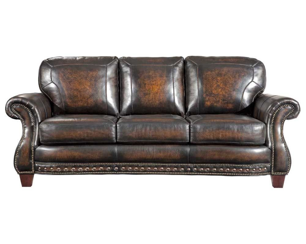 leather sofa broyhill furniture