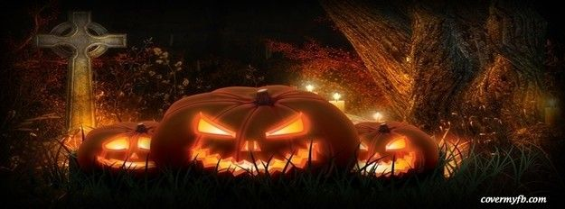 High Quality Scary Pumpkins Facebook Cover · Pumpkin WallpaperScary HalloweenHappy ...