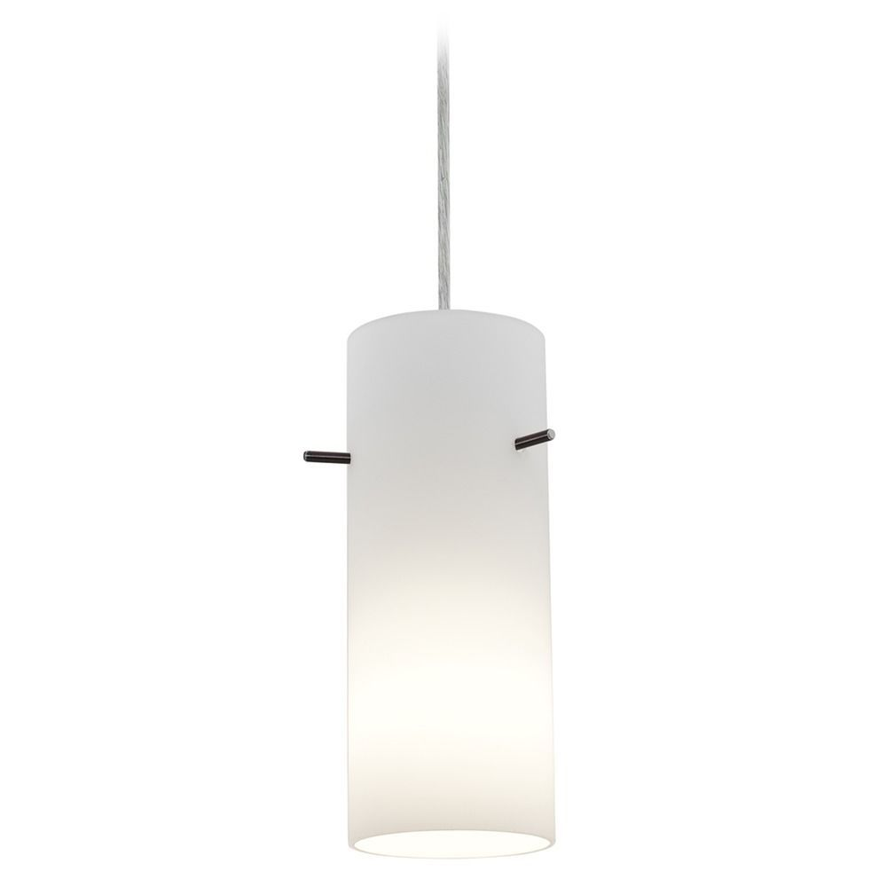 Access Lighting Cylinder Brushed Steel LED Mini Pendant Light With  Cylindrical Shade At Destination Lighting Amazing Ideas