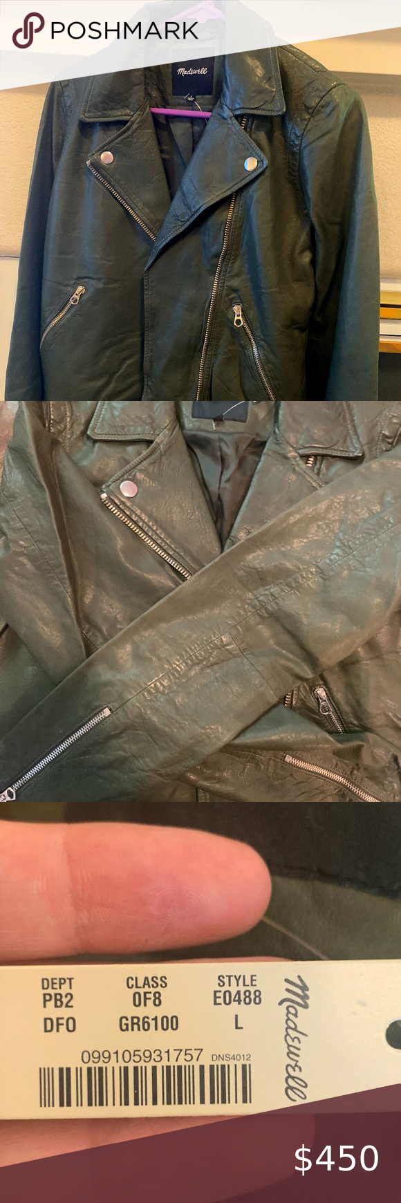 Madewell Forest Green Leather Jacket Green Leather Jackets Leather Jacket Brands Leather Jacket [ 1740 x 580 Pixel ]