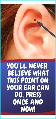 The Acupressure Point on Your Ear That Relieves St