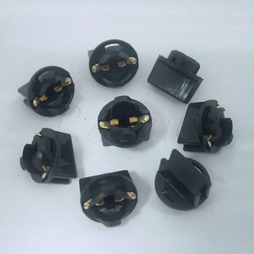 10x Pinball Machine 1 2 Hole Twist In Light Bulb Socket 194 168 All T10 Wedge Light Bulb Lamp Light Bulb