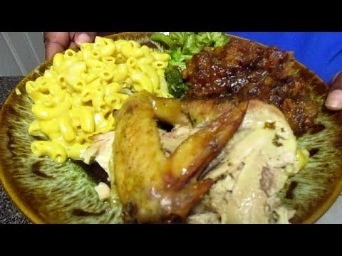How to make oven roasted chicken with candied yams dinner food dinners forumfinder Images