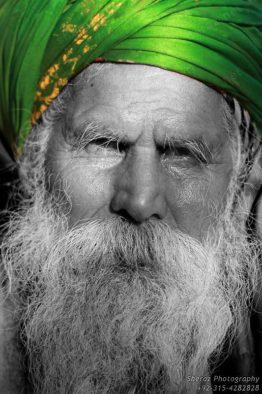 Malang Baba At Madhu Laal Hussain S Festival Portrait Old Faces Face