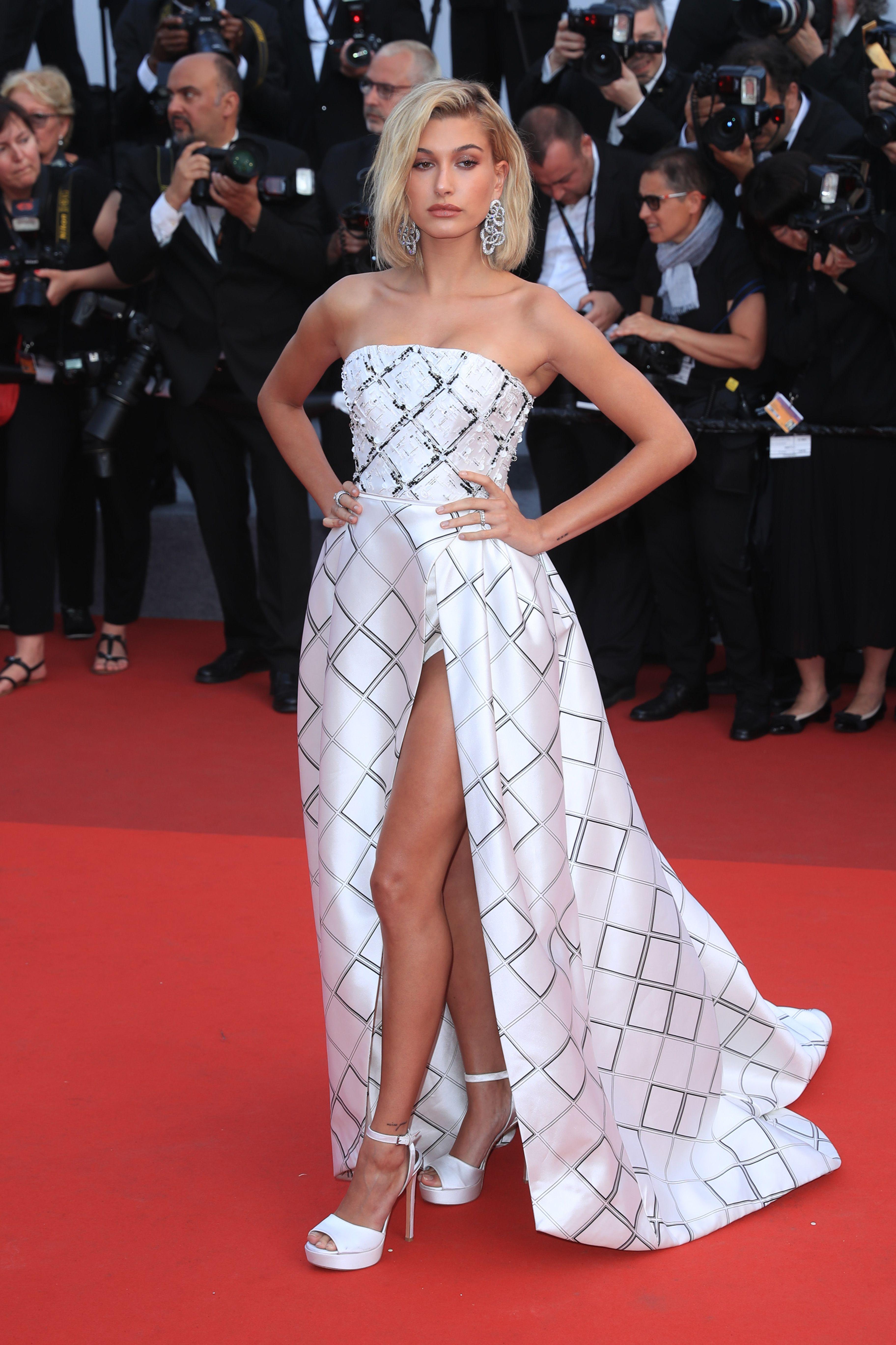 e0bcf74cd48c Festival de Cannes 2017 | Haute Couture. | Hailey baldwin style ...