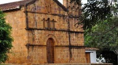 Visit the Santa Barbara Chapel - Barichara