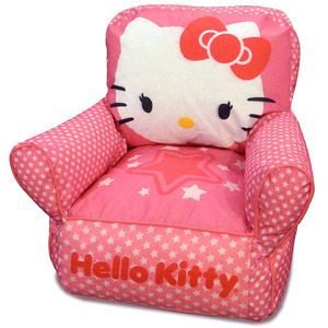 Already Have This Hello Kitty Toddler Bean Bag Sofa Chair for Adara thanks to my mom!  sc 1 st  Pinterest & Already Have This Hello Kitty Toddler Bean Bag Sofa Chair for Adara ...