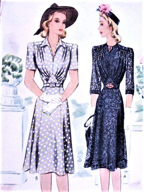 Dress neckline styles to sew