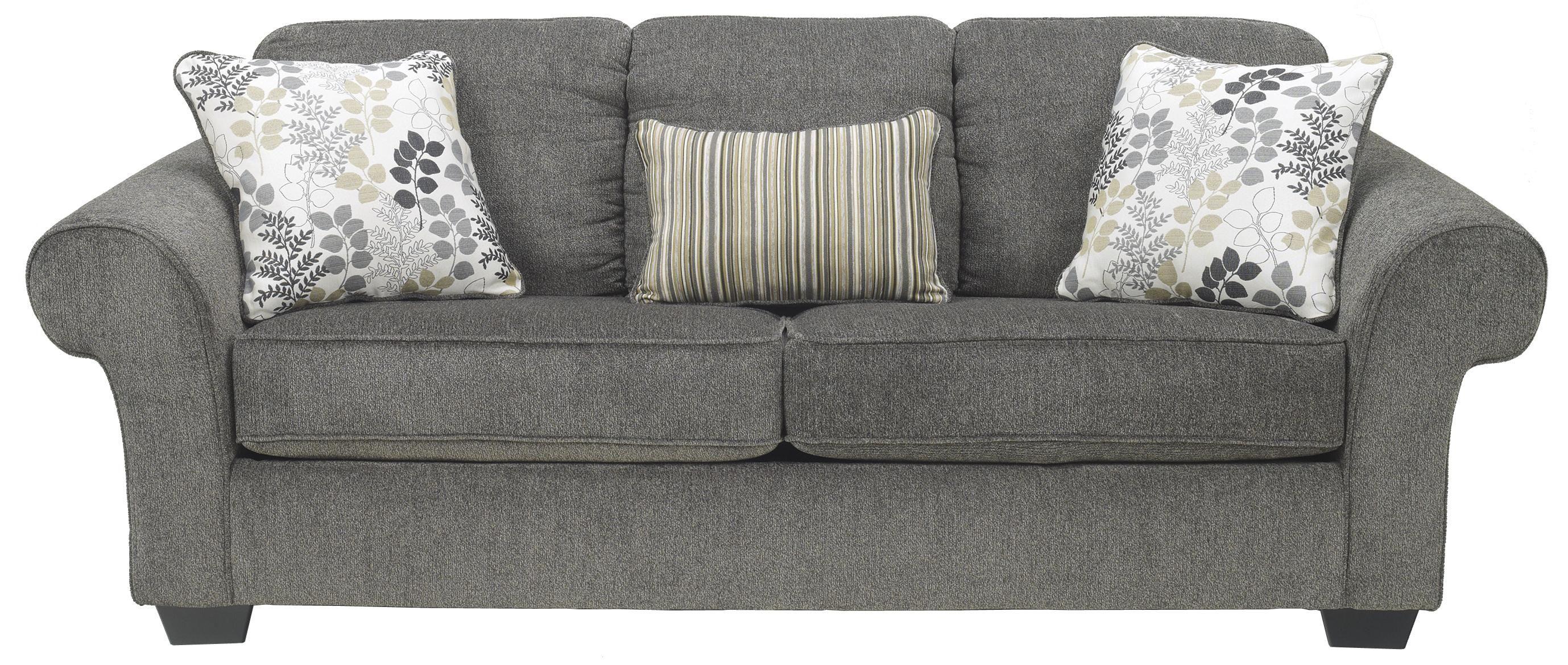Ashley Furniture Makonnen Charcoal Sofa