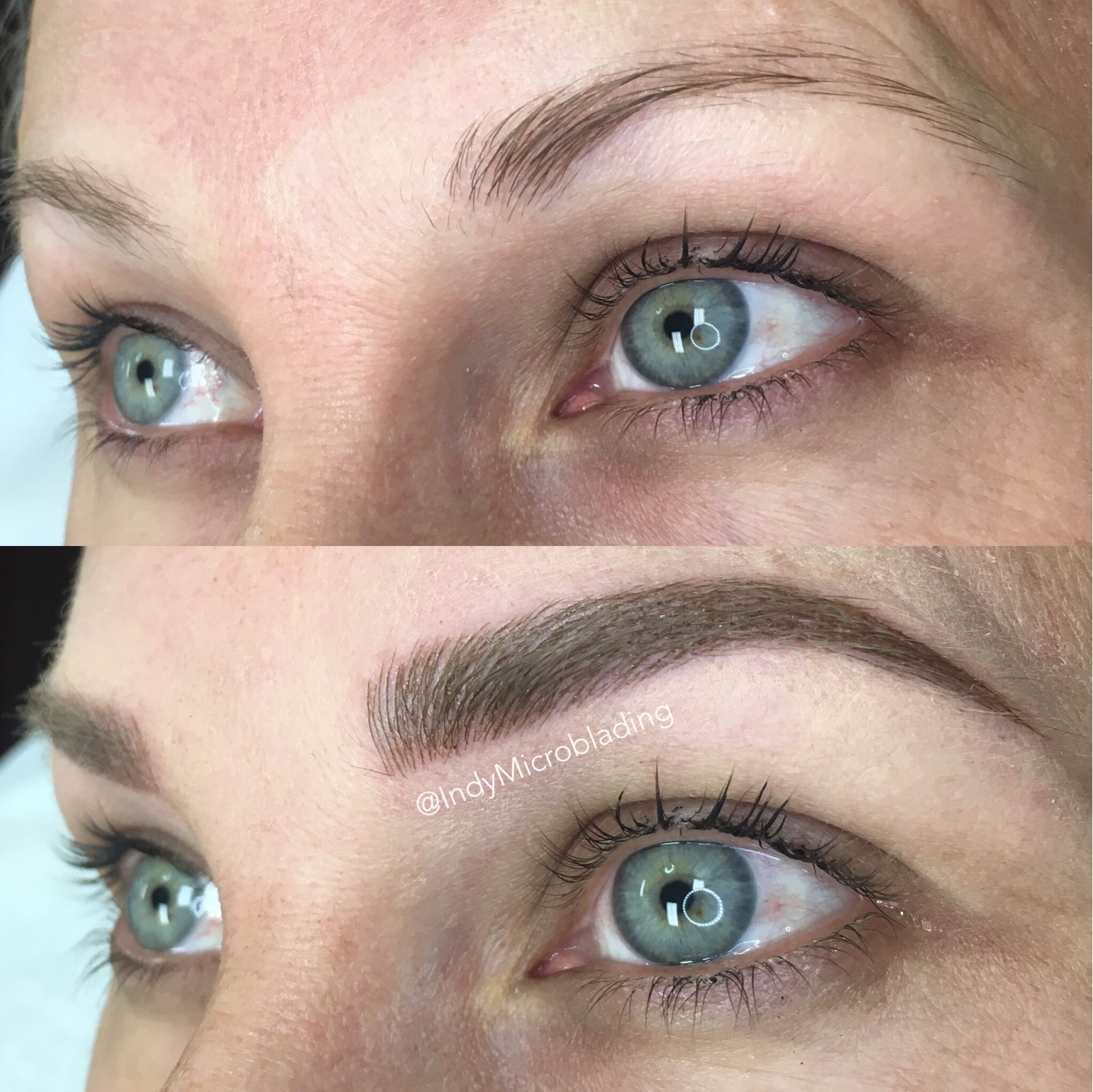 Indy microblading eyebrows on fleek microblading for How is microblading different to tattooing
