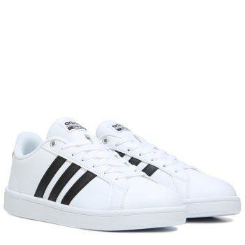 Footwear � adidas Men\u0027s Neo Cloudfoam Advantage Stripe Sneaker at Famous  Footwear