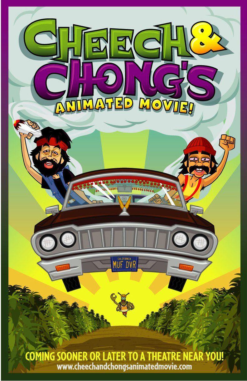 Cheech chongs animated movie 2013 cultclassic very