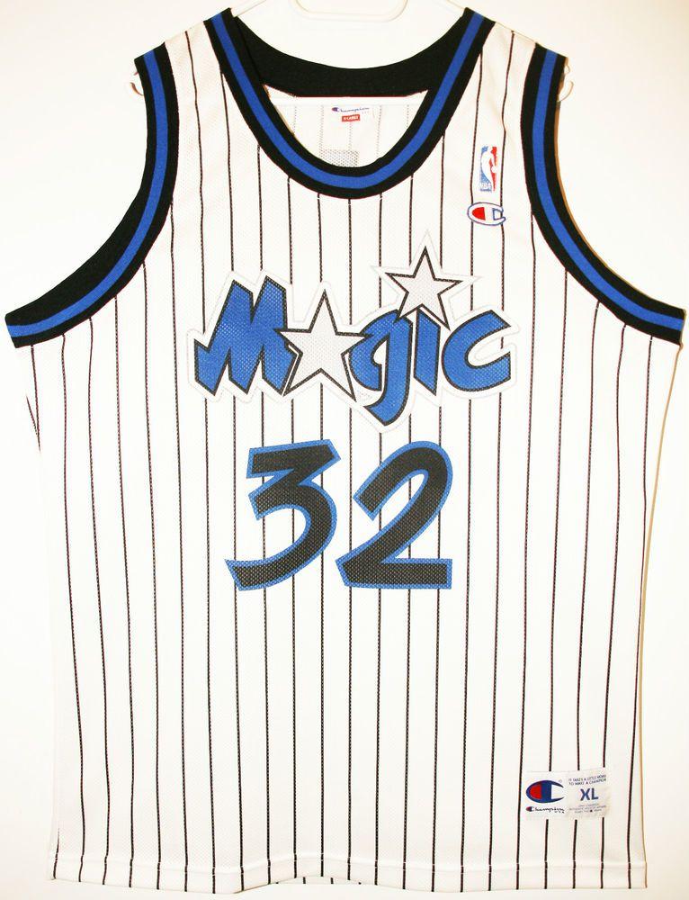 d96d45bbd8d Champion NBA Basketball Orlando Magic #32 Shaquille O'Neal Trikot/Jersey  Size 48 - Größe XL - 69,90€ #nba #basketball #trikot #jersey #ebay #etsy  #hood ...