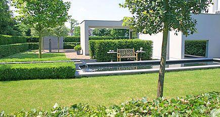 Tuinarchitect tuinontwerp moderne minimalistische strakke - Tuinontwerp ...