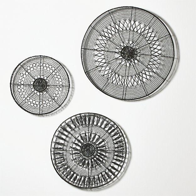 Circle Metal Wall Art, Round Wall Decor Metal