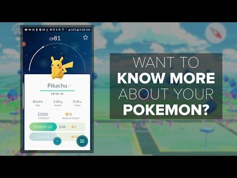 Pokemon Go 'Appraisal' reveals more details about each one