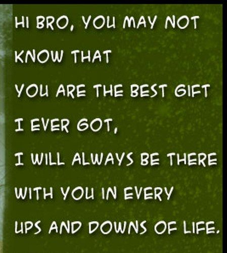 Good Quotes For Brother: Brother Quotes And Sibling Quotes