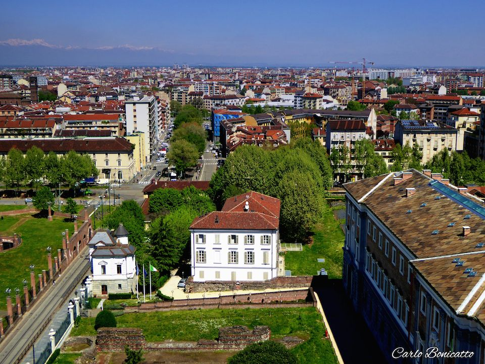 visioni aeree su Torino