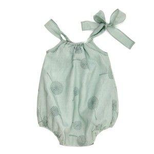 Ketiketa For Baby Girl Summertime Blue Onesie For Baby Girl Not