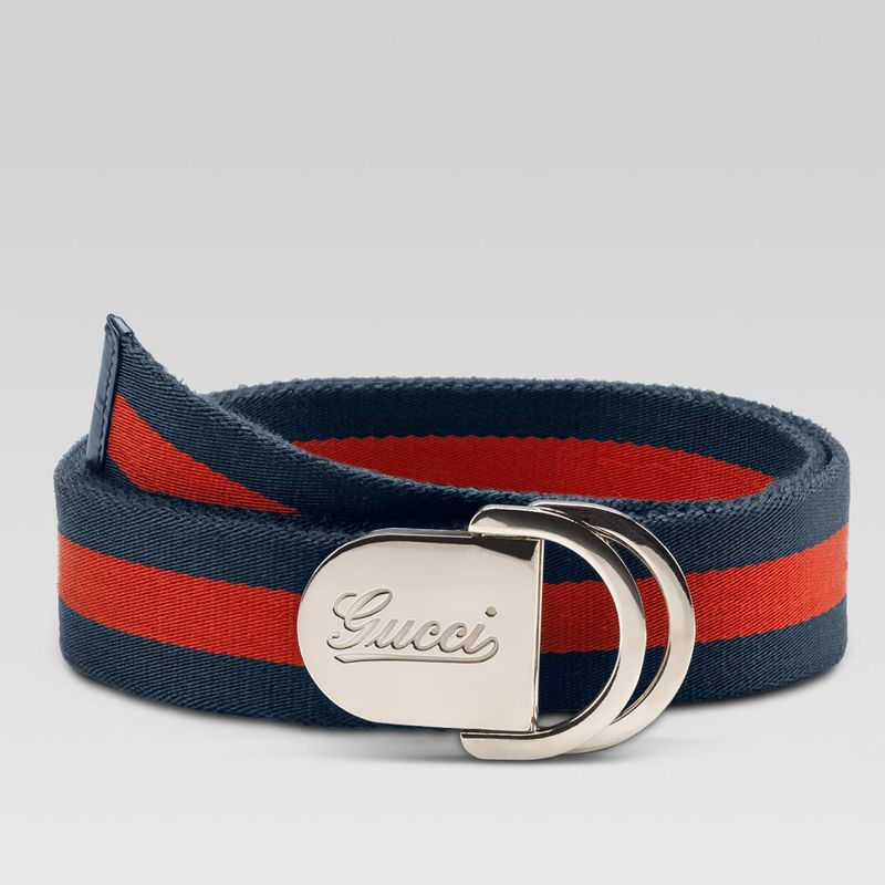 38f3dfb45 Gucci Men Belt - 189812 H90WN 8497 belt with engraved gucci script logo and  D ring bu