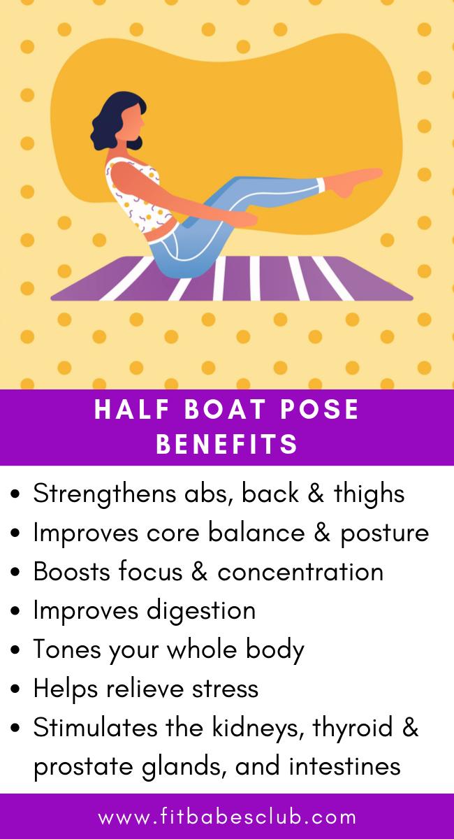 Half Boat Yoga Pose Ardha Navasana Benefits Easy Yoga Workouts Yoga Information How To Do Yoga