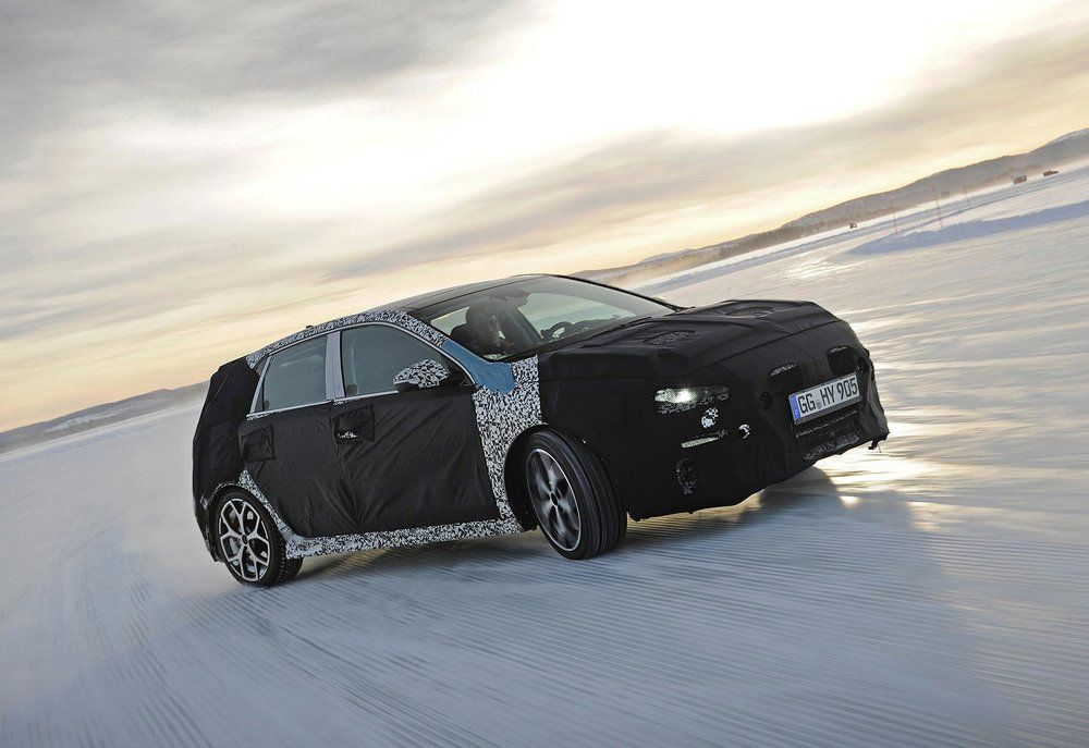Hyundai Tests New Performance I30 N To The Max Hot Hatch
