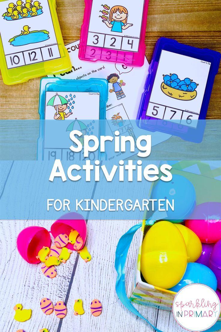 Photo of Spring Activities For Kindergarten