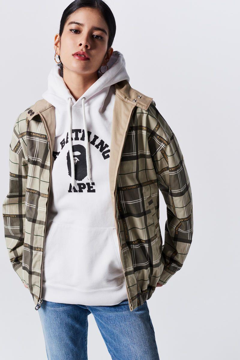 1e611b45 A Bathing Ape Spring Summer 2019 Collection Lookbook Hoodie Grey Jacket  Camo Green Tan