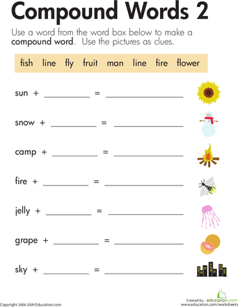 word addition compound words 2 teaching ideas pinterest compound words worksheets and. Black Bedroom Furniture Sets. Home Design Ideas