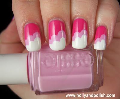 Holly and Polish: Pink clouds