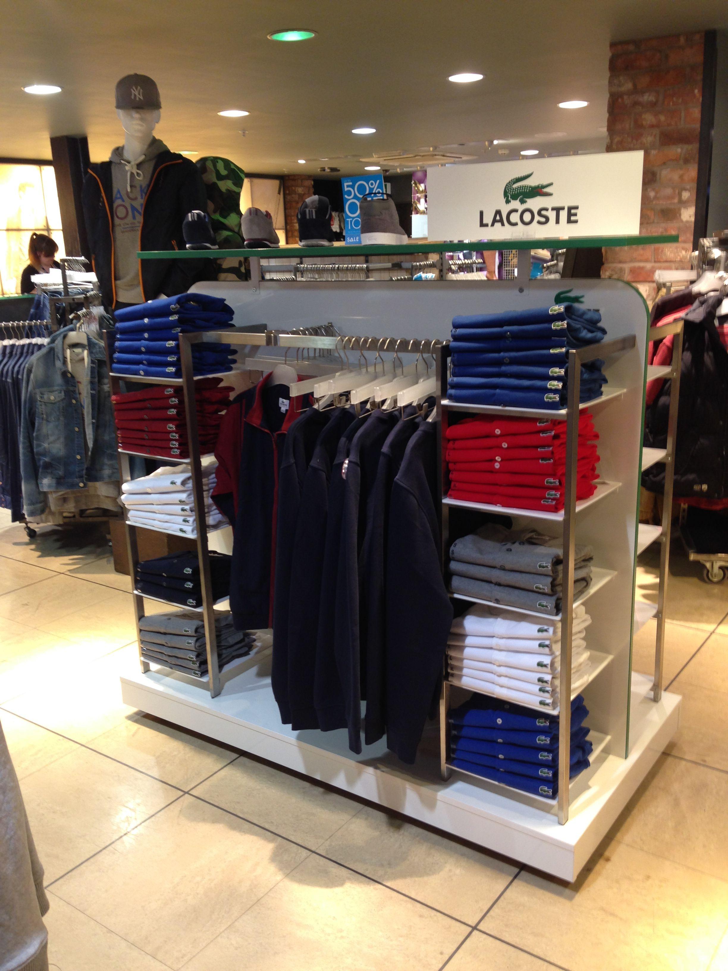 01b7d6d054d D4R design Lacoste's new Retail Gondolas - Design4Retail | retail in ...