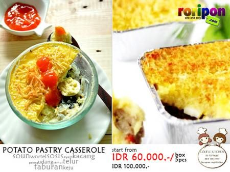 Potato Pastry Casserole in www.roripon.com