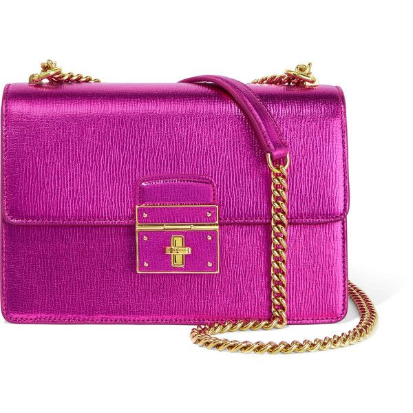 Dolce & Gabbana Textured leather Shoulder Bag (€925