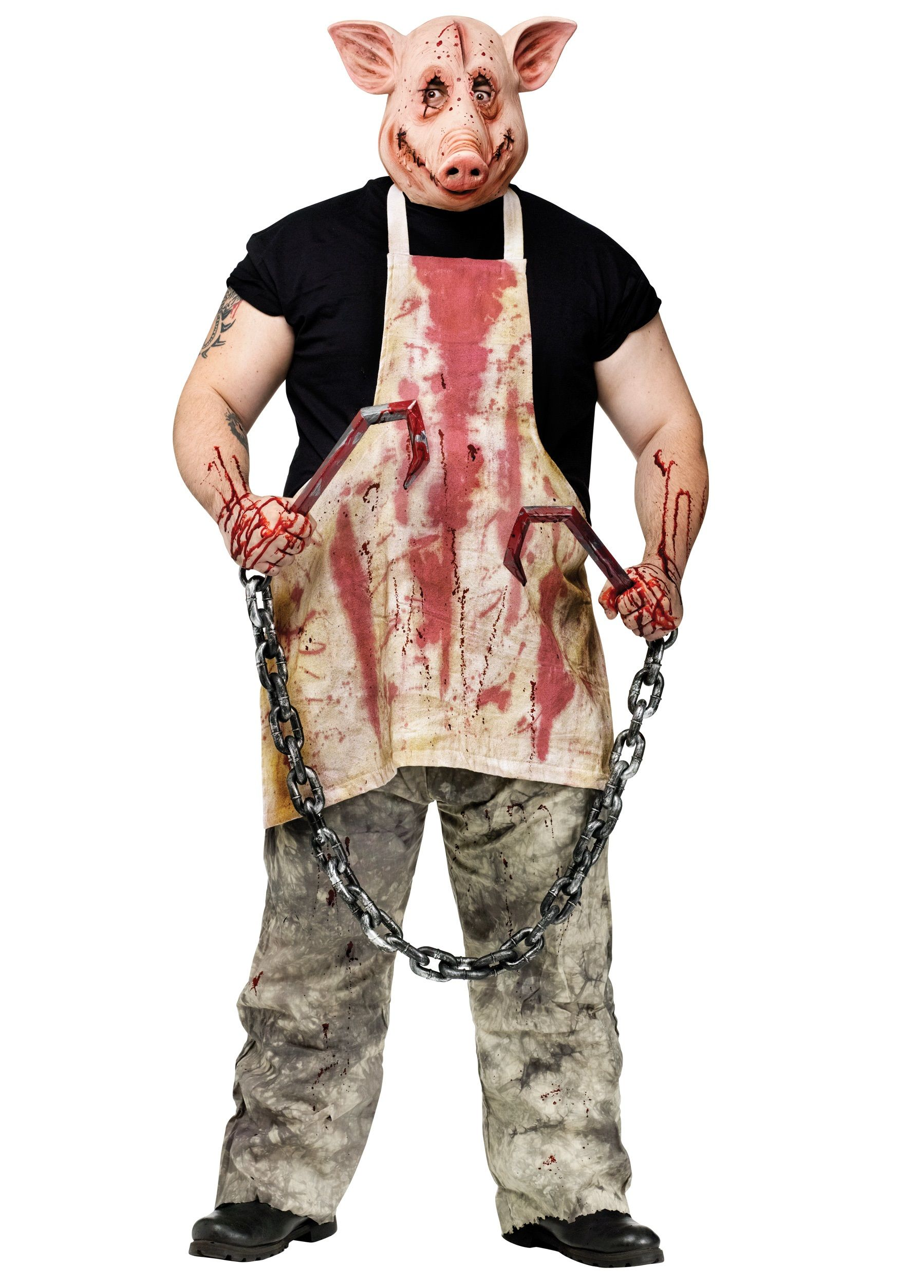 Butcher Pig Costume | Pig costumes, Costumes and Scary costumes