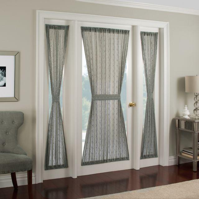 Front Door Curtains, Front Doors With