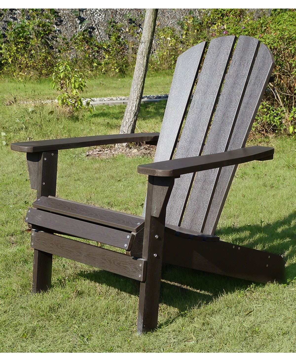 Northbeam Faux Wood Relaxed Adirondack Chair Reviews Furniture