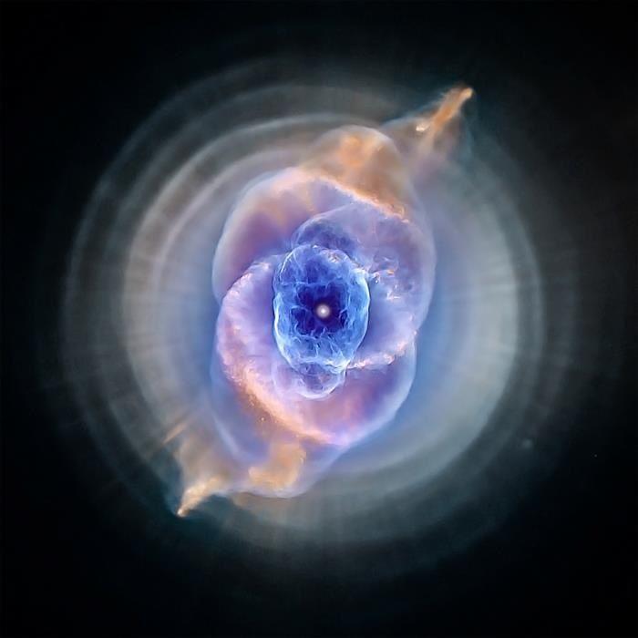 Cat's Eye Nebula, NASA Hubble Image. I Want To Dance Under