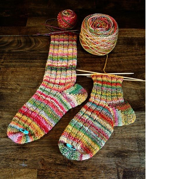Картинки вязания спицами носков