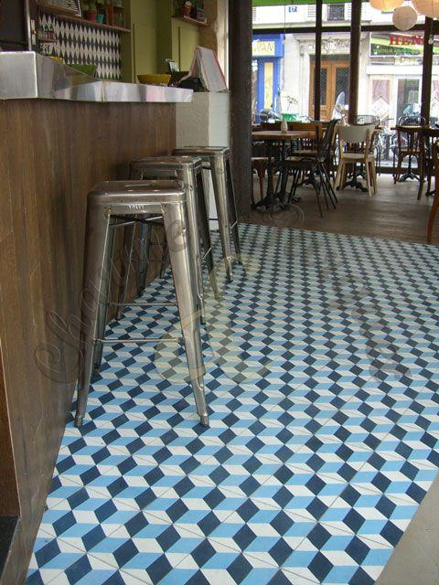 Carreaux de ciment - Showroom de carreaux de ciment en Ile de France - location studio meuble ile de france