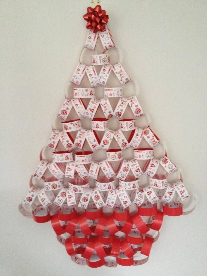 No Room For A Christmas Tree Hang It On The Wall Www Phoenix Trading Com Au Web Thecardlady Fabulous Christmas Paper Chains Christmas Decorations