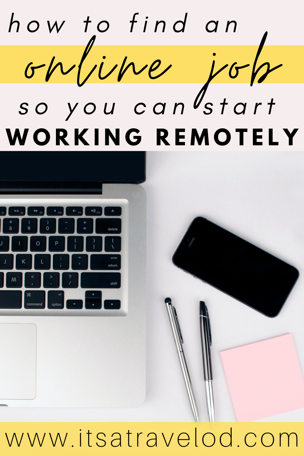 How To Land Your First Remote Job It S A Travel O D Remote Jobs Remote Work Online Jobs