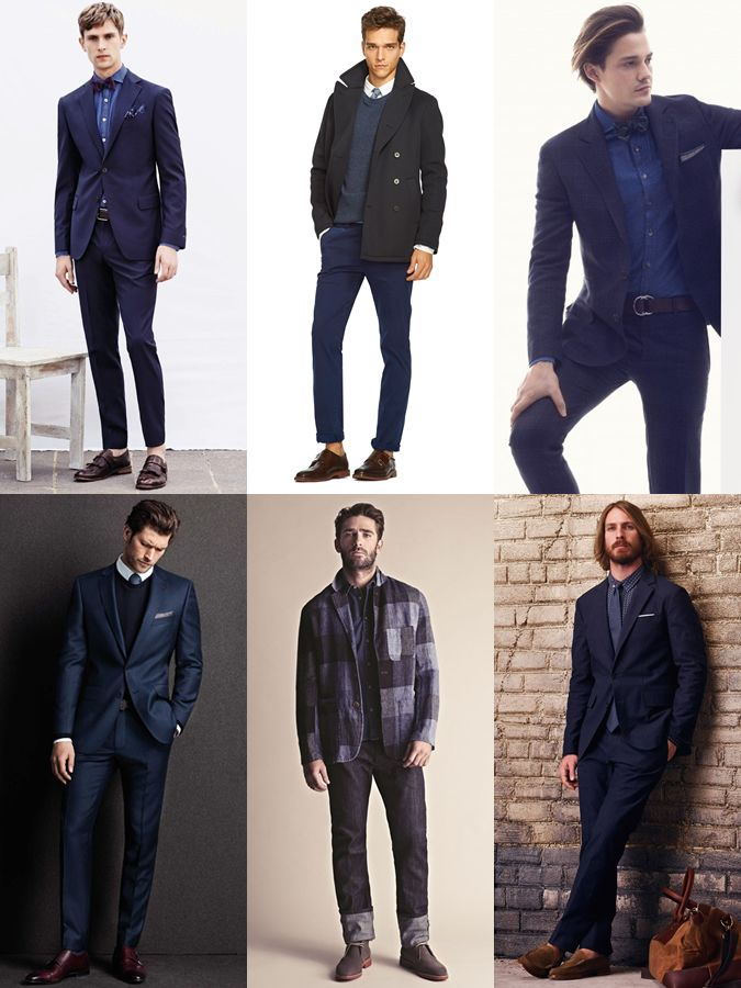 6fa34aa715 Men s All-Navy Outfit Inspiration Lookbook - The Finer Details ...