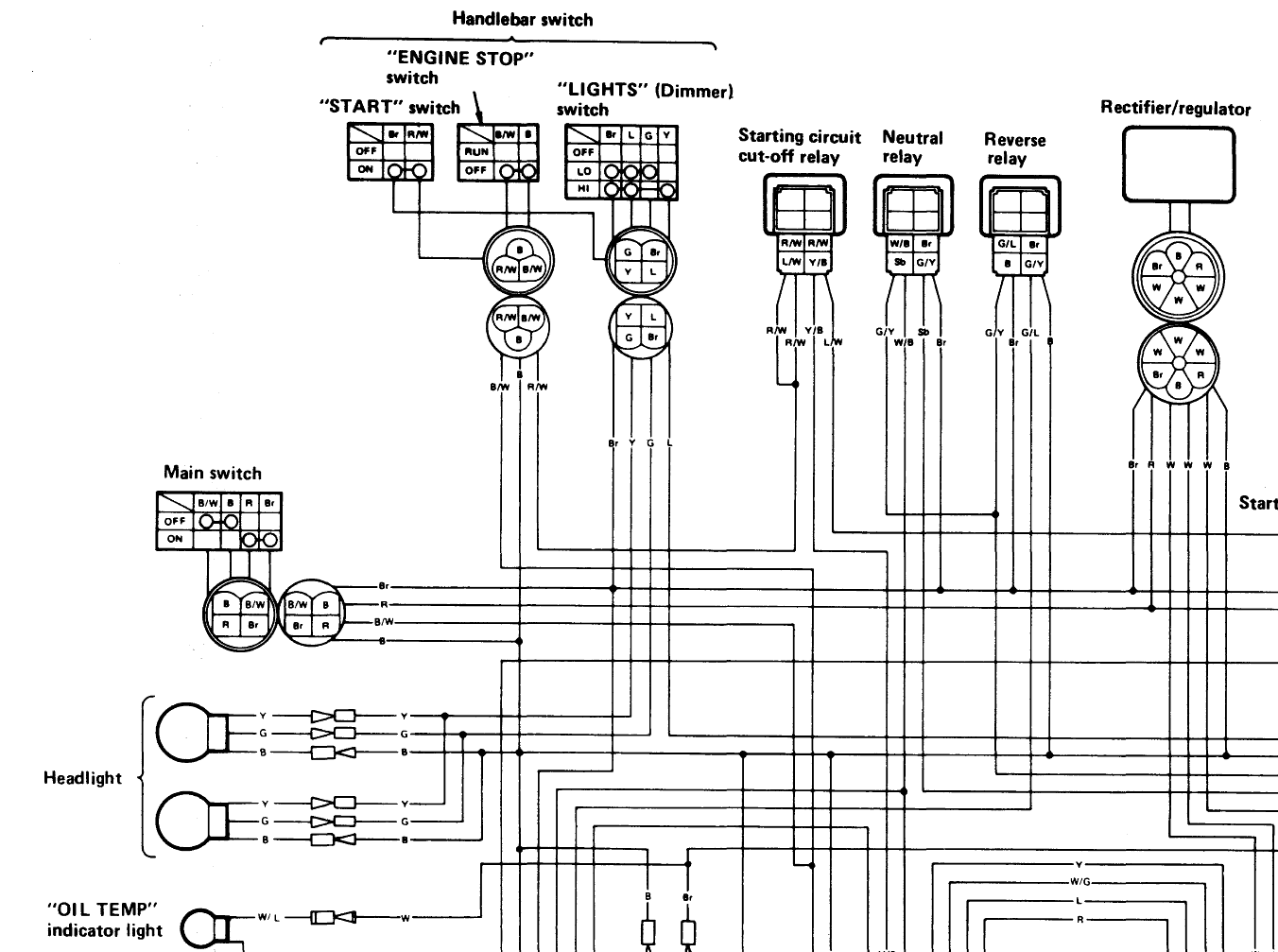 Yamaha 350 Warrior Wiring Diagram Diagram Electrical Circuit Diagram Circuit Diagram
