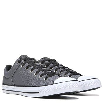 Converse Chuck Taylor All Star High Street Low Top Sneaker Grey White Nylon 451ac87d1