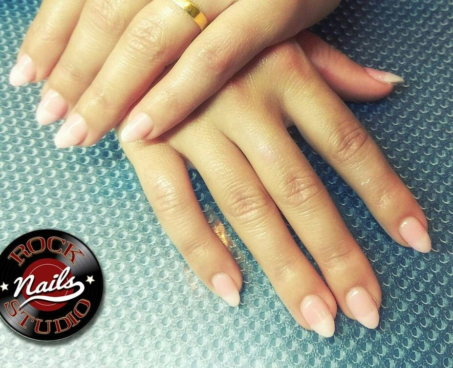Gel extensions natural look! | nail inspo | Pinterest | Gel ...